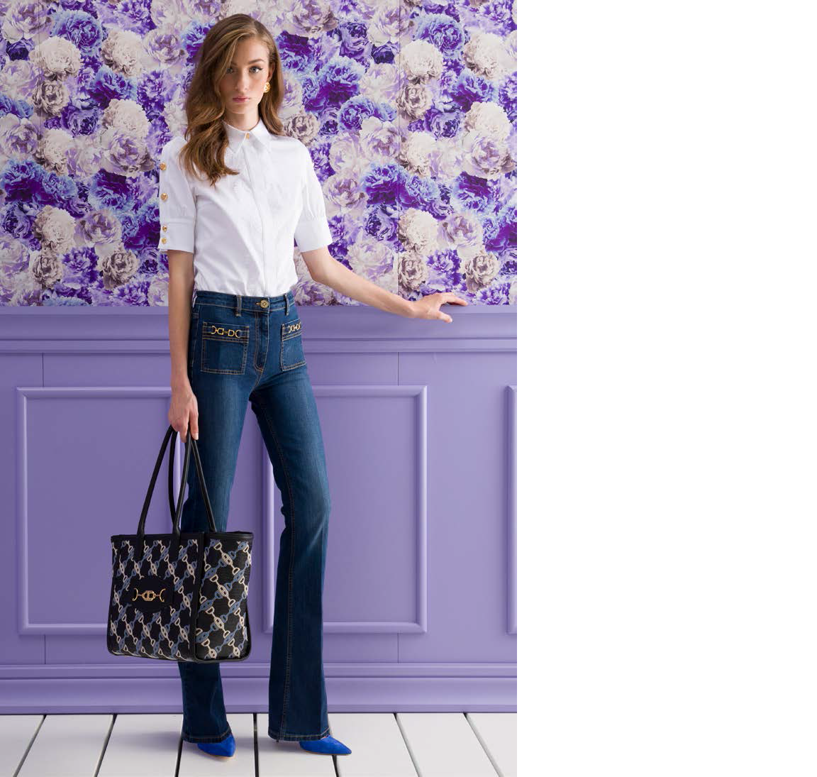 48-Tasche-Jeans-Hose
